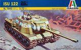 Модель самоходной-артиллерийской установки ИСУ-122 (ISU-122)