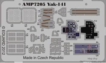 Фототравление на Як-141 (ART Model)