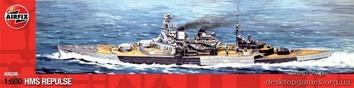 Модель корабля HMS REPULSE