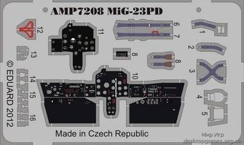Фототравление на Миг-23ПД (ART Model)