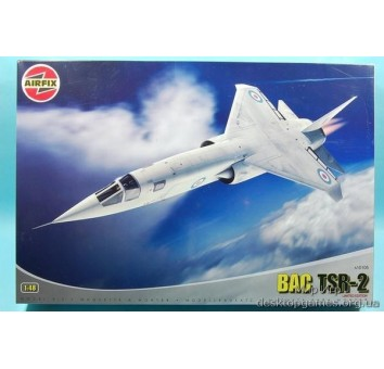 Сборная пластиковая модель самолета TSR-2