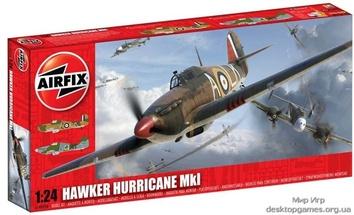 Модель самолета Хоукер Харрикейн Мк1