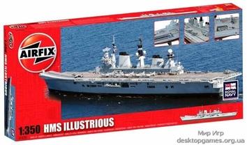 Модель корабля ЕВК «Илластриус»