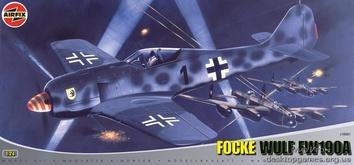 Модель самолета Фокке-Вульф Fw 190А «Сорокопут»