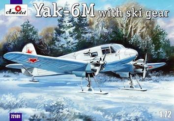 Як-6M с лыжным шасси - фото 3