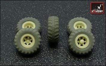 KrAZ-255B off-road truck VI-3 type wheels set