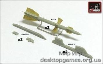 AR-ACA7235a R-27R (AA-10 «Alamo«) + AKU-470 + APU-470 «Air-Air«