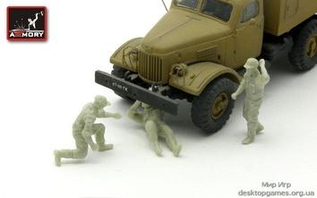 Советские/российские водители грузовика (современные)