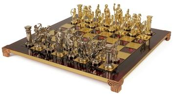 "Шахматы ""Manopoulos"", ""Лучники"" (Красные)"