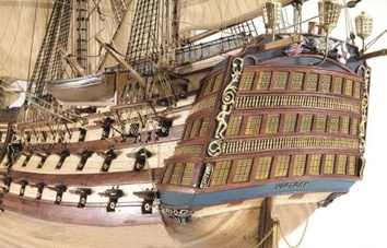 Модель деревянного парусника для склеивания H.M.S. VICTORY - фото 2