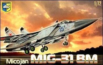 Cоветский перехватчик МиГ-31 БМ «Фоксхаунд«