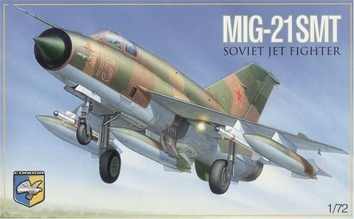 Советский многоцелевой истребитель МиГ-21 СМТ