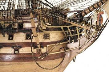 Модель деревянного парусника для склеивания H.M.S. VICTORY - фото 3