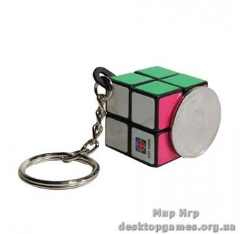 Фингер кубик 2x2 брелок на ключи
