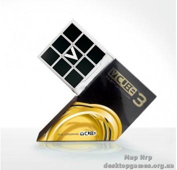В-Куб 3х3 плоский белый | V-CUBE 3 WHITE