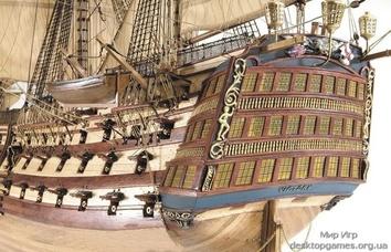 Модель деревянного парусника для склеивания H.M.S. VICTORY - фото 9