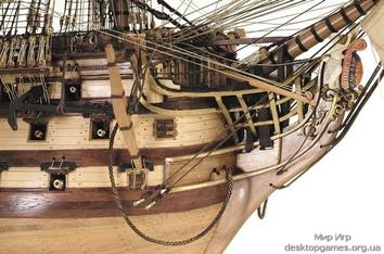 Модель деревянного парусника для склеивания H.M.S. VICTORY - фото 11