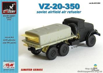 ВЗ-20-350 Советский аэродромный воздухозаправщик полная модель