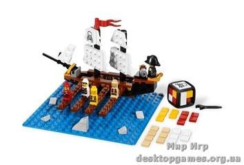 """Lego """"Пиратская доска"""" Настольные игры"""
