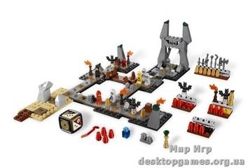 """Lego Героика """"Пещеры Натхуз"""" Настольные игры"""