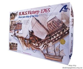 Модель деревянного парусника для склеивания H.M.S. VICTORY - фото 14