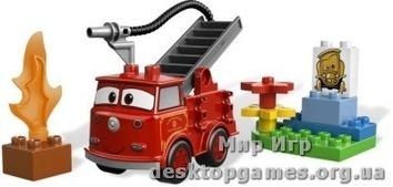 Lego Ред Cars 2 Duplo 6132