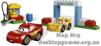Lego День гонок Cars 2 Duplo 6133