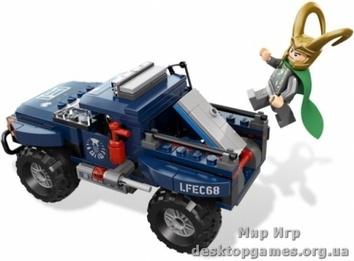 """Lego """"Космическое Спасение Куба Локи"""" Lego Super Heroes"""