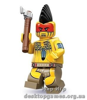 Lego Индеец серия 10 Minifigures 71001-5