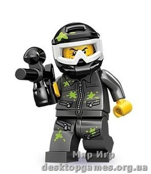 Lego Игрок в пейнтбол Серия 10 Minifigures 71001-9