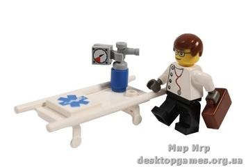 Lego «Доктор с носилками» Exclusive 7267
