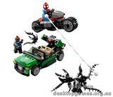 Lego Охота со спайдер-циклом Super Heroes 76004