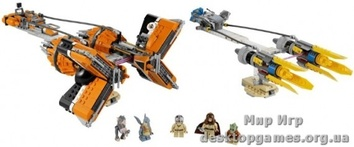 Lego «Гоночные капсулы Анакина и Себульбы» Star Wars 7962