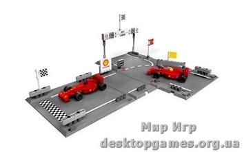 Lego «Гоночный набор Ferrari F1» Racers 8123