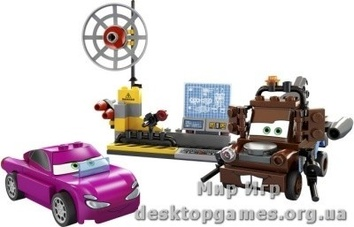 Lego «Шпионский штаб Мэтра» Cars 2 8424