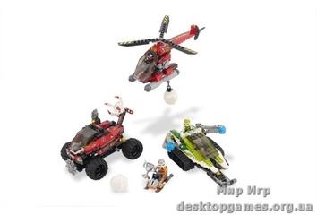 Lego «Снежный буран»  Racers 8863