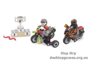 Lego «Змеиный каньон» Racers 8896