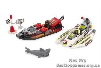 Lego «Риф зубчатых челюстей» Racers 8897