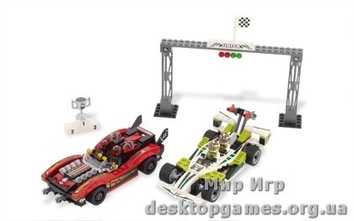 Lego «Аварийная трасса» Racers 8898
