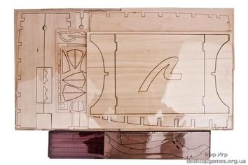 Модель деревянного парусника для склеивания H.M.S. VICTORY - фото 19