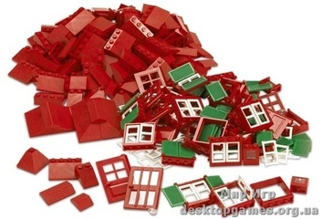 Lego «Детали: окна, двери, черепица» Education 9243