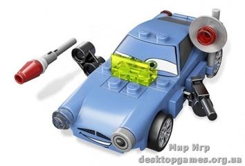 Lego  Финн  МакМиссил  Cars 2 9480
