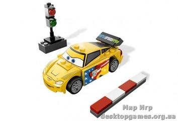 Lego  Джеф Горвет   Cars 2 9481
