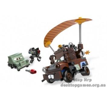 Lego Побег агента Мэтра Cars 2 9483