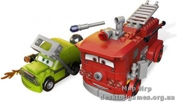 Lego  Спасение Рэда  Cars 2 9484