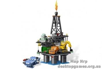 Lego  Побег с нефтяной вышки Cars 2 9486