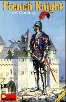 MA16001 French knight XV century