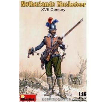 MA16010 Netherlands musketeer, XVII century