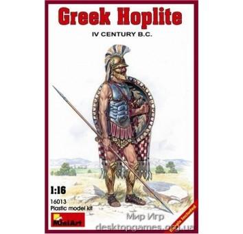 MA16013 Greek hoplite, IV century B.C