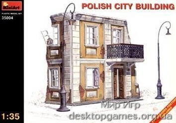 MA35004 Polish city building